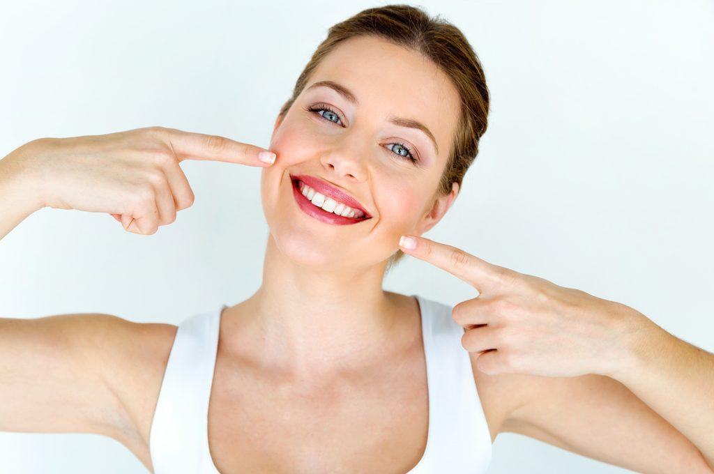 Denti sbiancati