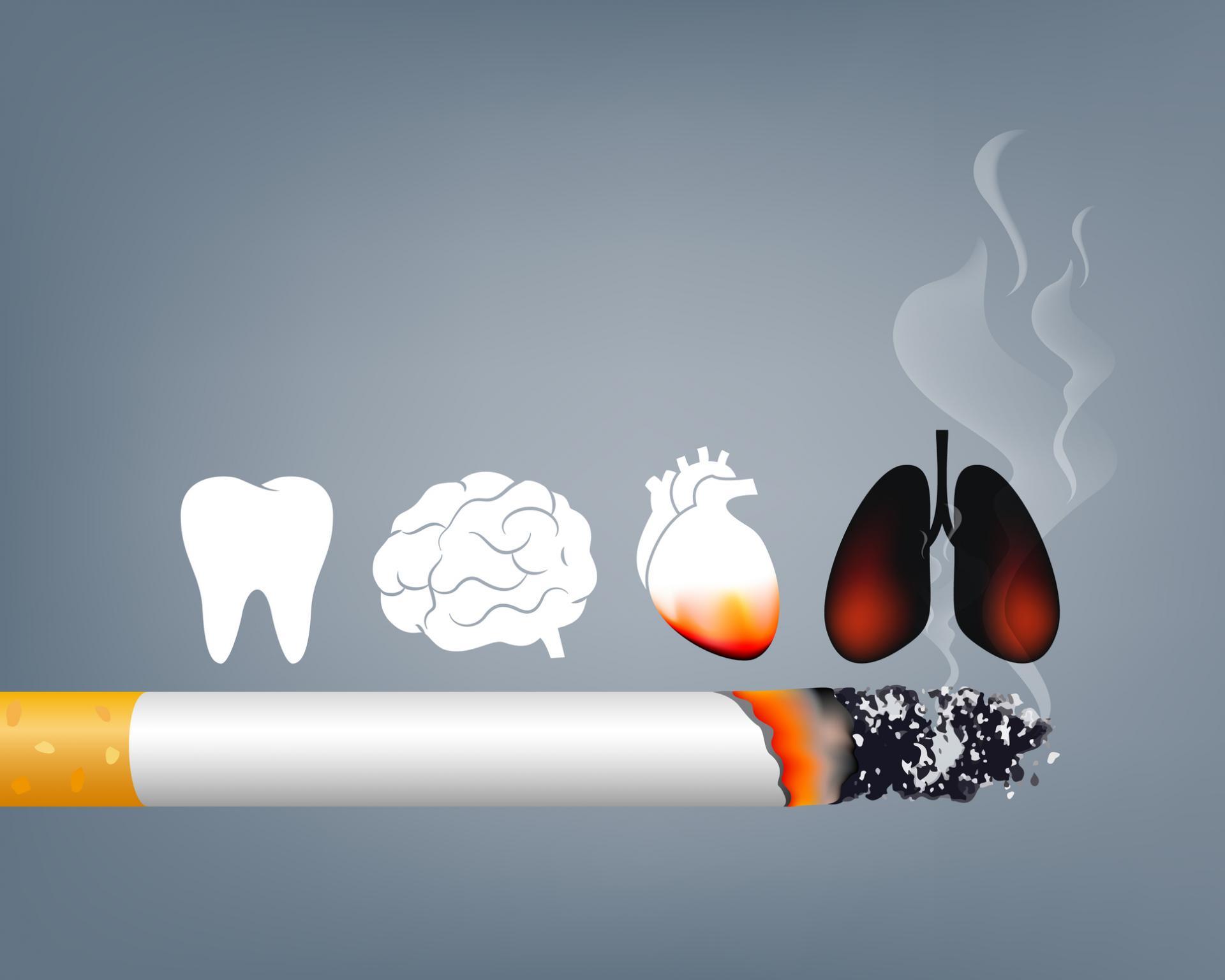 danni del fumo